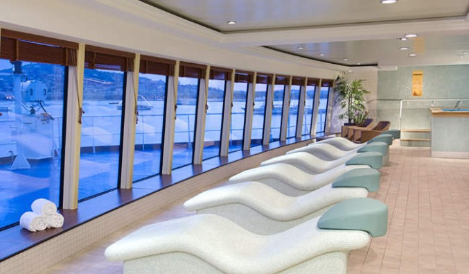 Imagen del Spa del barco Norwegian Jewel