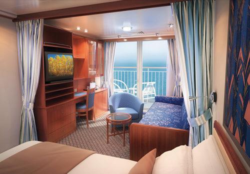 Imagen de una Mini Suite del barco Norwegian Sun