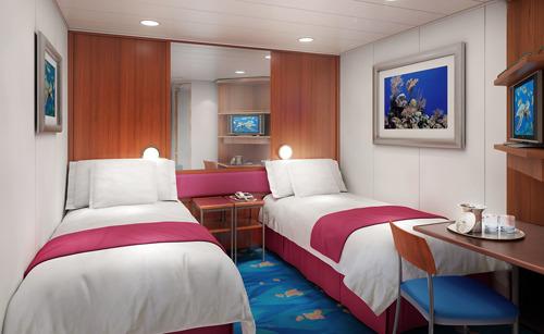 Imagen de un Camarote interior del barco Norwegian Pearl