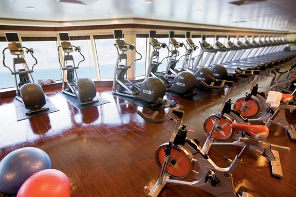 Imagen del Fitness Center del barco Norwegian Pearl