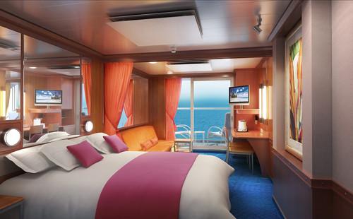 Imagen de una Mini Suite del barco Norwegian Pearl