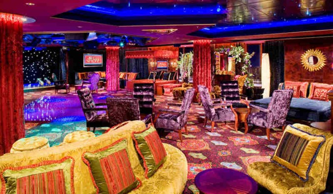 Imagen del Night Club Bliss del barco Norwegian Pearl