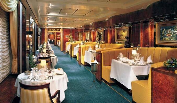 Imagen del Restaurante Adagio del barco Norwegian Sun
