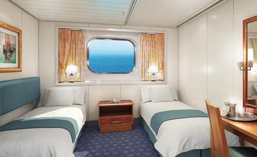 Imagen de un Camarote con vistas al mar del barco Norwegian Spirit