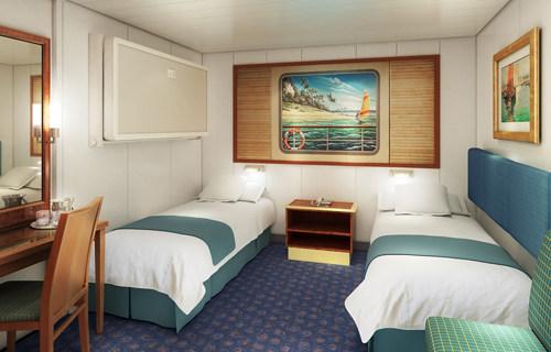 Imagen de un Camarote interior del barco Norwegian Spirit