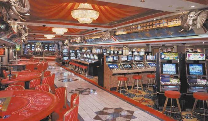 Imagen del Casino del barco Norwegian Spirit