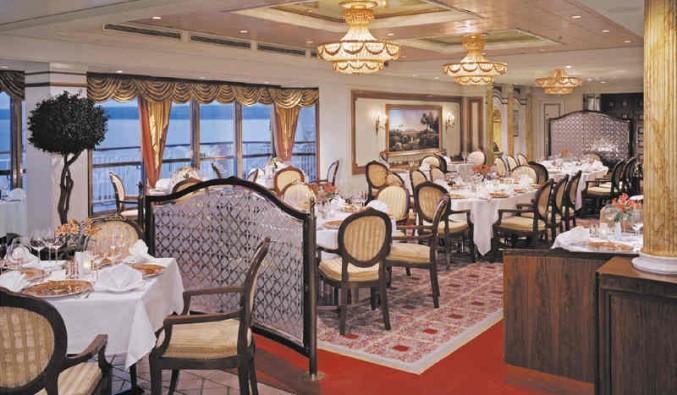 Imagen del Restaurante Cagneys Steakhouse del barco Norwegian Spirit