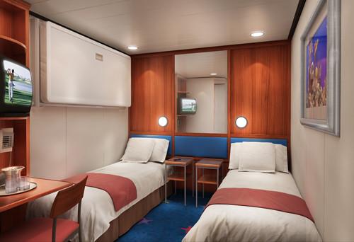 Imagen de un Camarote interior del barco Norwegian Star