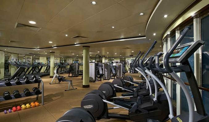 Imagen del Fitness Center del barco Norwegian Star