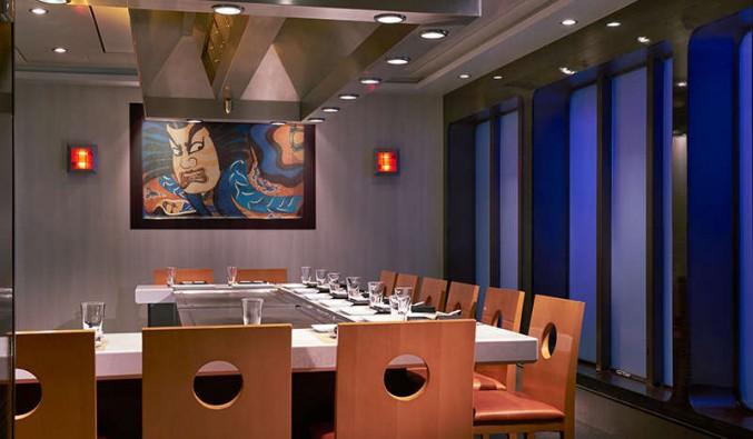Imagen del Restaurante Tempanyaki del barco Norwegian Star