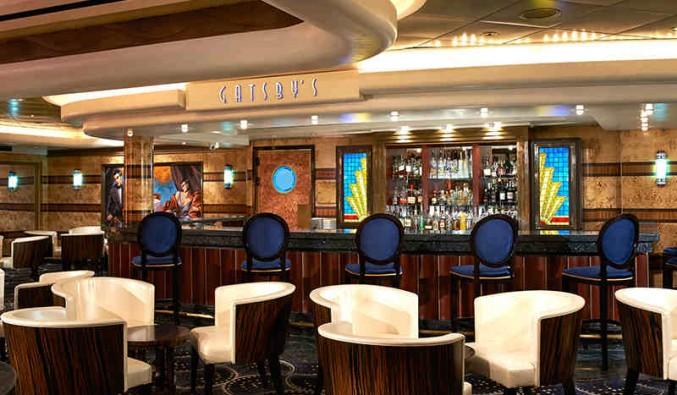 Imagen del Salón Gatsbys del barco Norwegian Star