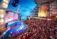 Imagen del Aqua Theatre del barco Oasis of the Seas