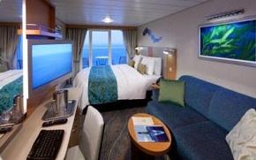 Imagen de un Camarote con balcón del barco Oasis of the Seas