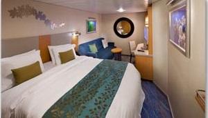 Imagen de un Camarote interior del barco Oasis of the Seas