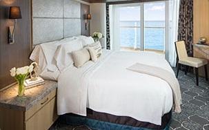 Imagen de una Suite del barco Oasis of the Seas