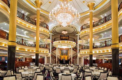 Imagen del Comedor principal del barco Voyager of the Seas