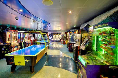 Imagen de una Zona de juegos del barco Voyager of the Seas