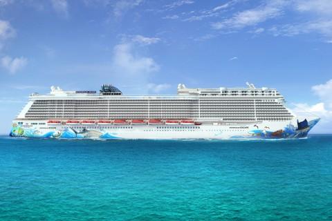 Barco Norwegian Escape de la naviera Norwegian Cruise Line