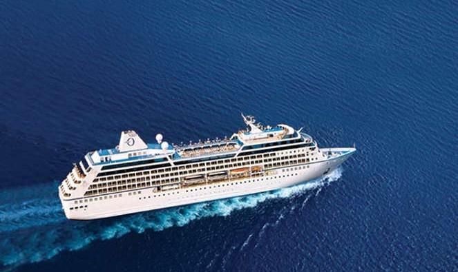 Barco de la naviera Oceania Cruises
