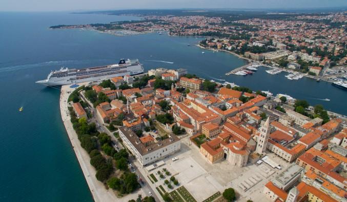 puerto-de-cruceros-zadar-croacia-Zadar Old Town