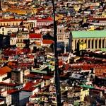 Vista de la ciudad de Nápoles en Campania