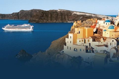 Barco de la Naviera Princess Cruises
