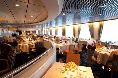 Imagen del Restaurante Le Splendide del Barco Horizon de Pullmantur