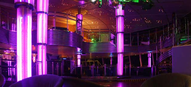 Imagen de la Discoteca Starlight del Barco Empress de Pullmantur