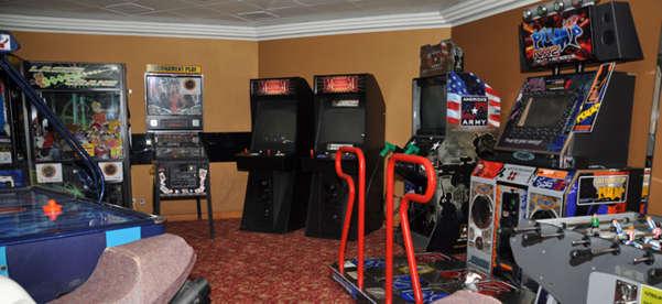 Imagen de la Sala de Video Juegos del Barco Empress de Pullmantur