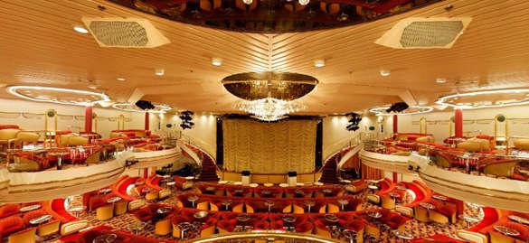 Imagen del Salón Broadway del Barco Empress de Pullmantur