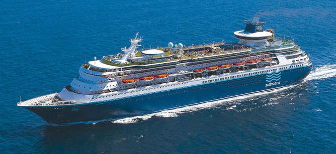 Barco de cruceros Sovereign de Pullmantur