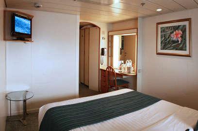 Imagen de un Camarote Interior del barco Sovereign de Pullmantur