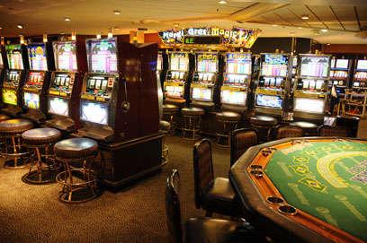 Imagen del Casino del barco Sovereign de Pullmantur
