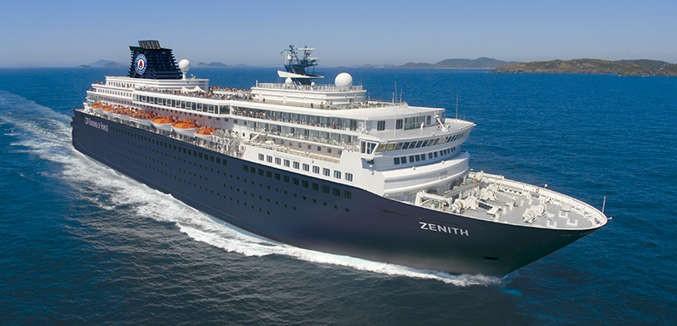 Barco de Cruceros Zenith de Pullmantur