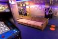 Imagen de la Sala de Video Juegos del Barco Zenith de Pullmantur