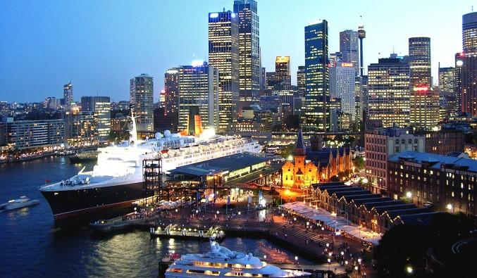 Puerto de cruceros de Sydney