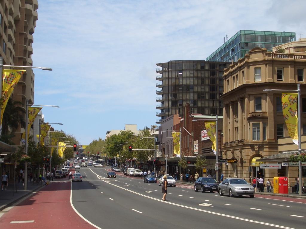 Puerto de cruceros de Sydney Oxford Street