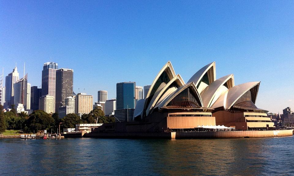 Puerto de cruceros de Sydney. Opera House