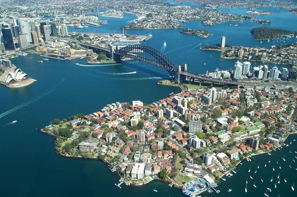 Puerto de cruceros de Sydney Harbour Bridge