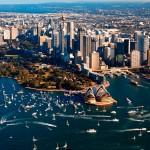 Puerto de cruceros de Sydney o Port Jackson