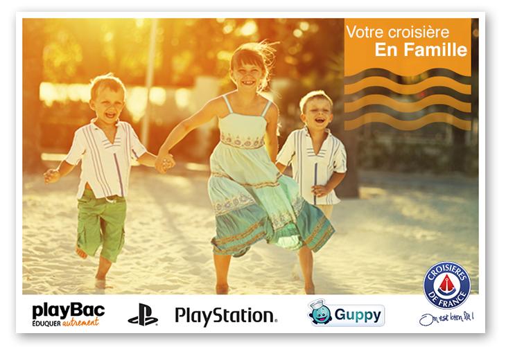 crucero con niños en Croisières de France
