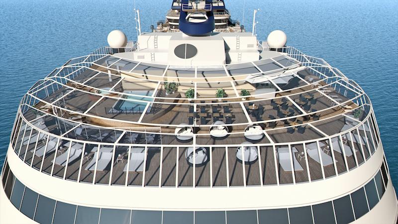 MSC Meraviglia, MSC Yacht Club Pool