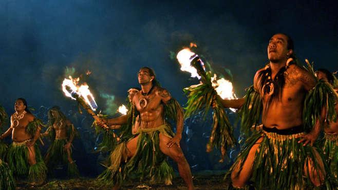 Festival de Arte de Las Marquesas, escala de los cruceros Aranui