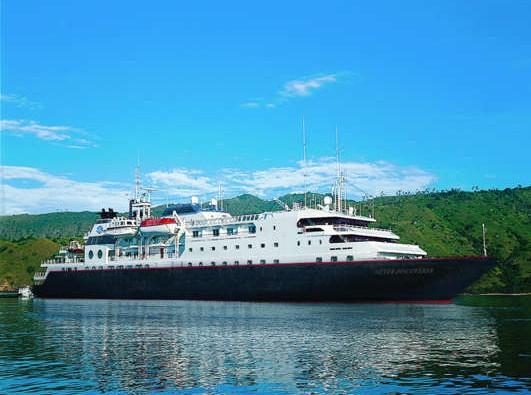 Barco de la naviera Silversea Cruises