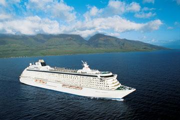 Barco de la naviera Cristal Cruises