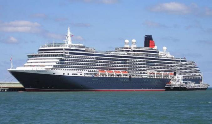 Barco de la naviera Cunard