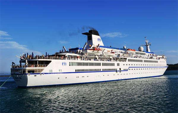Barco Berlin de la naviera FTI Cruises