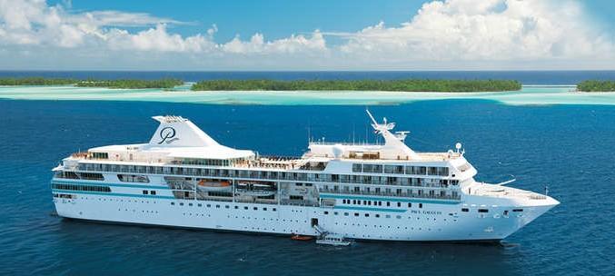 Barco de la naviera Paul Gauguin Cruises