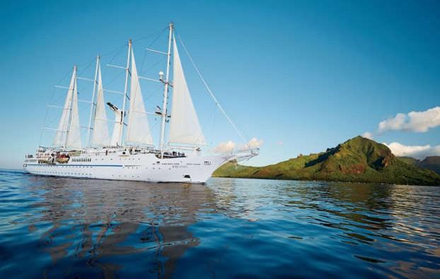Barco de la naviera Windstar Cruises