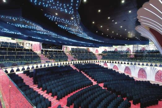 Imagen del Teatro del Msc Orchestra